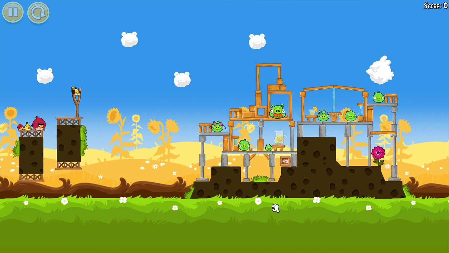 Interface AngryBirds